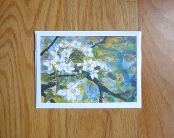 Promise- Apple Blossom Greeting Card