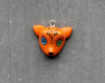 kawaii fox charm