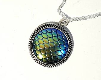 Dragon Scales Necklace