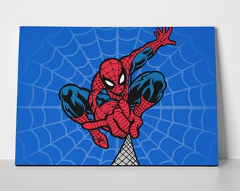 Spiderman Poster or Canvas