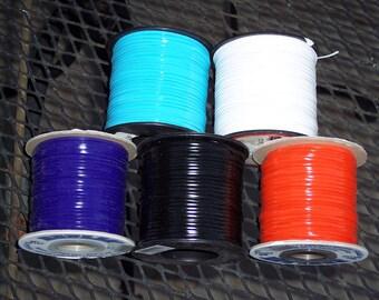 Rexlace plastic lacing,ass't colors,100 yd spool,gimp,crafts,kids craft,USA Made,lanyard craft lace,braiding,VBS,camp