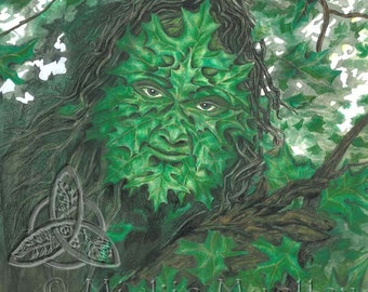 The Greenman Open Edition Print