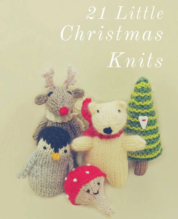 21 Christmas Knitting Pattern Decorations Ornaments Toys Gifts