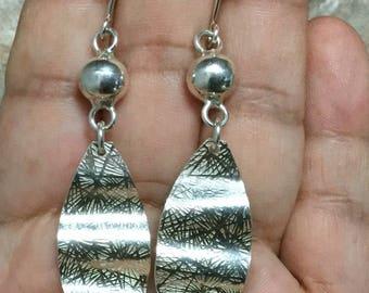 Sterling Silver Earrings, 925 Sterling Silver  Earrings,  Dangle Earrings, Women Earrings