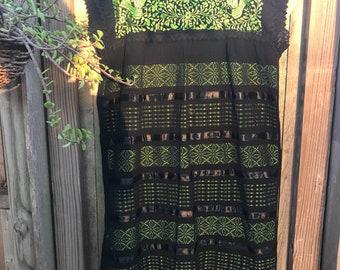Mexican Dress, Telar Dress, Witch Dress