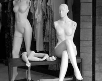 Brazilian Mannequin Girls - Original Signed Fine Art Photograph