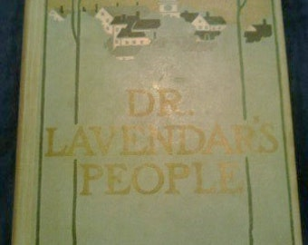 Vintage Book, Dr. Lavendar's People ECS