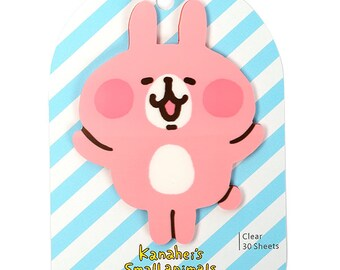 30 sheets Kanahei's post-it -transparent Sticky note - Secretly message , Memo sticky note 9183102 rabbit