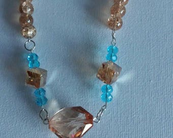 Necklace with beach sand
