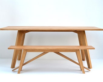 Chiswick Oak Dining Table