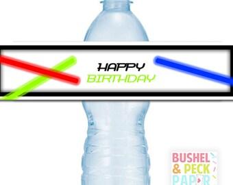 PRINTABLE Laser Tag #Bottle #Labels - (Instant Download) #DIY #digital #printable #file
