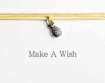 Wens Armband - Ananas - Make A Wish