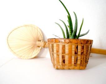 Vintage Square Basket
