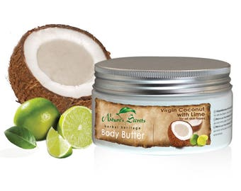 Virgin Coconut with Lime Body Butter 200ml
