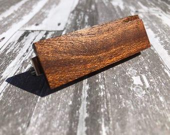 Reclaimed Mahogany Tie Bar