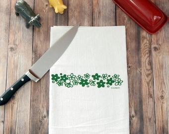 Pyrex Spring Blossom Flour Sack Tea Towel - Crazy Daisy Hand Towel