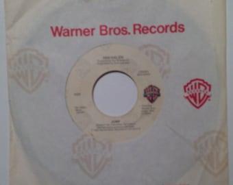 Van Halen Jump And House Of Pain Vintage 45 Vinyl Record Album 1983