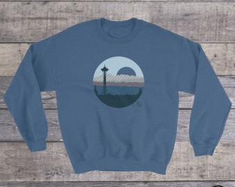 Seattle Scape Sweatshirt