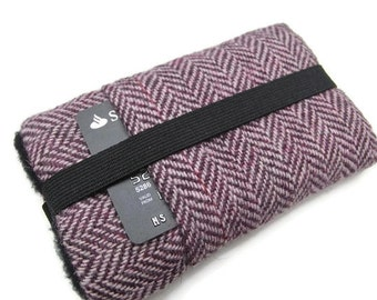 iphone 6  7 plus Cover  Galaxy Note 4  Samsung S5  Harris Tweed Cover