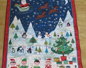 Christmas Advent Calendar - North Pole Party
