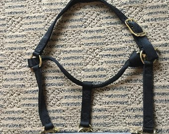 MADE TO ORDER - Custom Halter with Name Patch