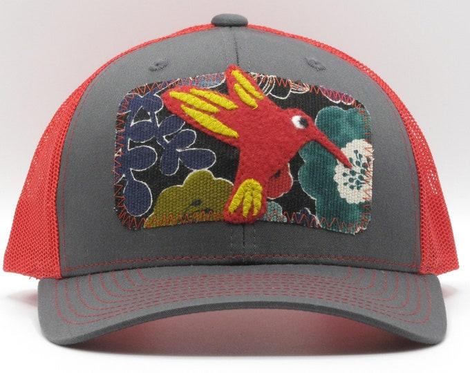 Red Hummingbird Baseball/Trucker Hat