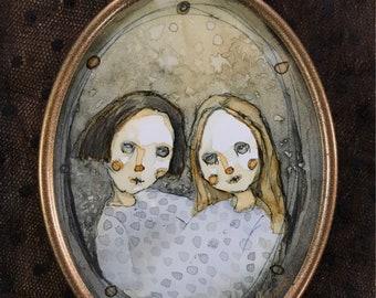 My Girl (original framed painting)