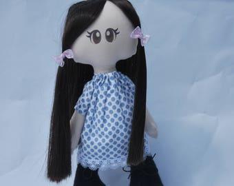 "Handmade doll ""Rosie"""
