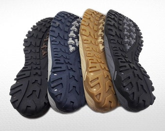 Winter soles - Rubber soles for felted and leather men shoes - Soles men footwear - Soles for sneakers and shoes - Soles for felted boots