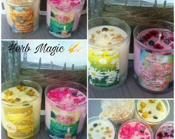 Herb Magic Eco friendly Soy Candle
