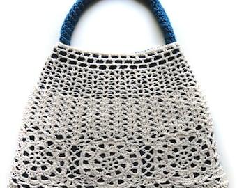 Double Layer Lace Bag - PDF Crochet Pattern - Instant Download
