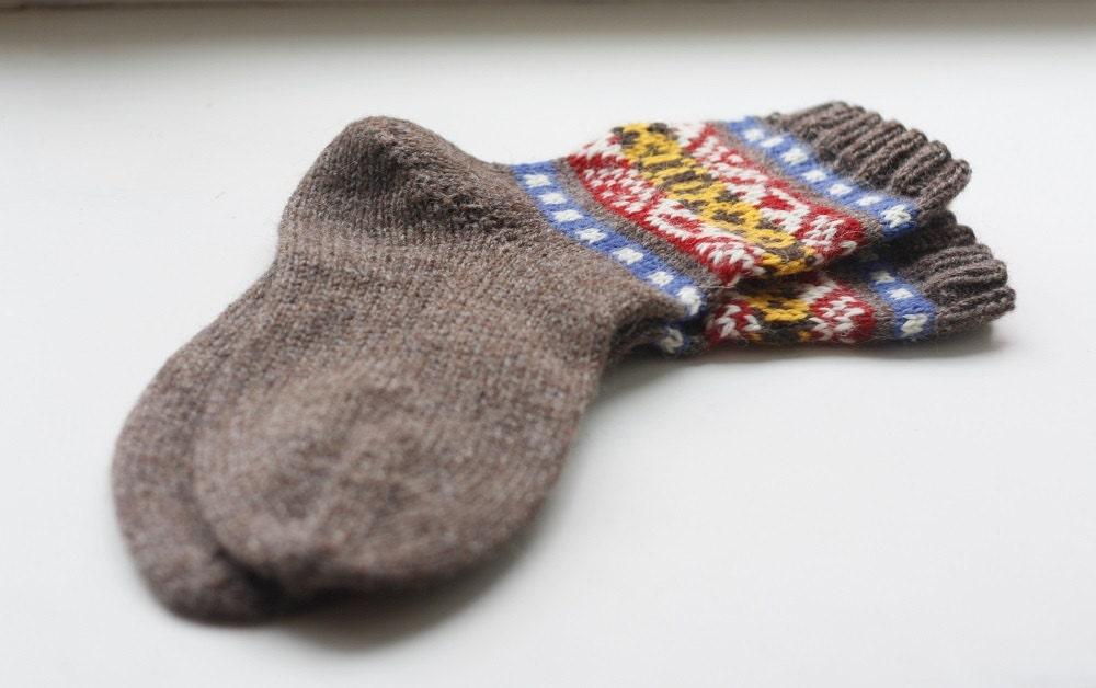 Skroo Fair Isle Socks PDF Knitting Pattern