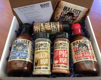 BBQ Sauce and Dry Rub Sampler