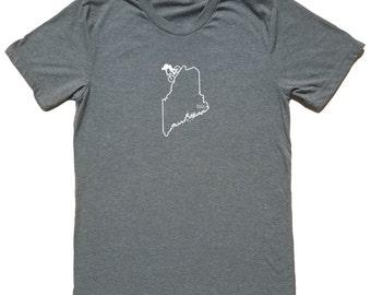 Maine Mountain Biking Shirt