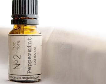 No.2 Peppermint - 100% PURE ESSENTIAL OIL - certified organic - therapeutic practitioner grade