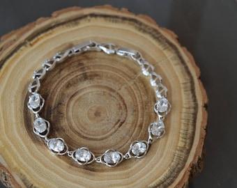 Bracelet,Bridal bracelet,Wedding Bracelet,Crystal bracelet,Jewelry.