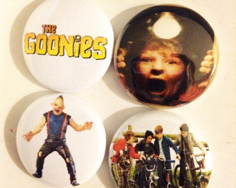 The Goonies Pin Button 1""