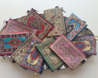 Original Turkish woven coin purse - Turkish tapestry coin purse - Buy 3 for 9.99