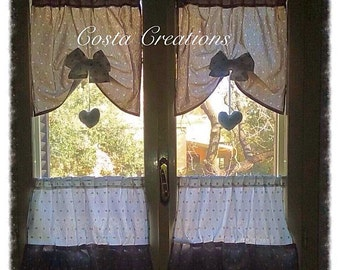 Curtains Romantic style shic