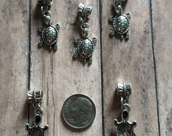 3 Turtle Charms