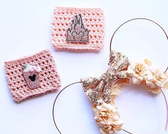 Rose Gold Ears | Rose Gold Wire | Mouse Ears | Wire Ears