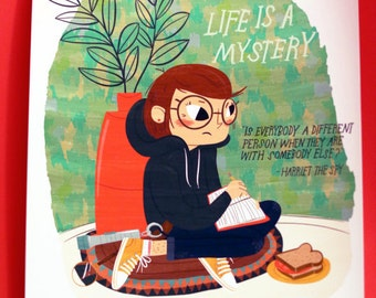 Harriet The Spy print