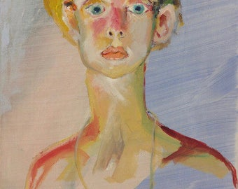 Woman portrait 24 x 30 cm