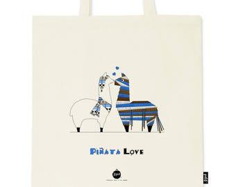 Love Tote Bag - llama - Sojoli piñata