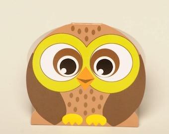 Owl favour boxes