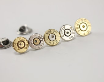 Bullet Tie Tack - Bullet Hat Pin - Valentines Day Gifts For Him - Gifts for Husband - Valentines Day Gifts for boyfriend - Groom Gift