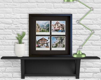 Framed Europe Photo tiles, Polaroid Photography, Wall Decor, Art and Collectibles, Architectural and Landscape Photography