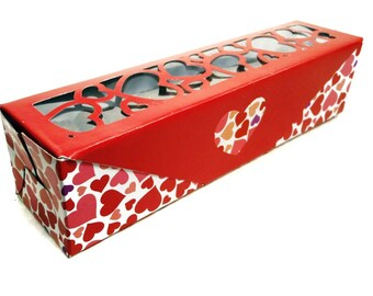 Gourmet Dog Treats - Hearts of Love gift box - Vegetarian All Natural Gift Boxed Valentines Day - Shorty's Gourmet Treats