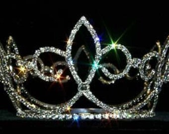 Style # 13372 Skipping Fleur De Lis Crown