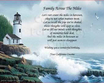 Lighthouse - Across the Miles Birthday Wish